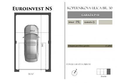 Garaža 6 – 17,48m2 – cena 15.000,00-EURA sa uračunatim PDV-om